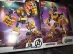 Lego Marver Avengers, 76141 Mech Thanosa, klocki