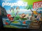 Playmobil 70033 Starter Pack, Karoca z konikami wodnymi, klocki, zabawki