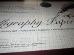 Calligraphy Paper, Papier do kaligrafii, kaligrafia