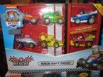 Paw Patrol, Psi Patrol, Ready Race Rescue, Race gift pack, zestaw wyścigowy, samochodziki, samochodzik
