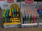 Toma markery akrylowe, Marker Akrylowy, Mazak, mazaki, flamastry acrylic Toma markery akrylowe, Marker Akrylowy, Mazak, mazaki, flamastry acrylic