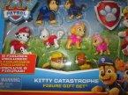 PAW Patrol, Psi patrol, Kitty Catastrophe, Zestaw figurek, Figure gift set