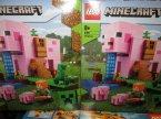 Lego Minecraft, 21170 Dom w kształcie świni, klocki Lego Minecraft, 21170 Dom w kształcie świni, klocki