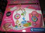 Clementoni, Crazy Chic, Zestaw do tworzenia biżuterii, kreatywny i artystyczny zestaw dla młodych projektantek biżuterii, zestaw piękności, kreatywne zestawy piękności
