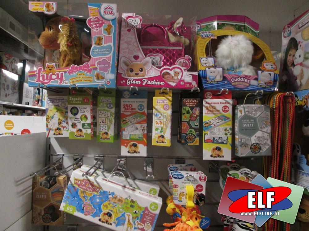Zabawki, Piesek Lucy, Chi Chi Love, Little Live Pets Cuddles, Zabawki edukacyjne CzuCzu i inne zabawki