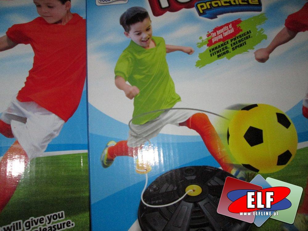 Piłka na gumce, zestaw do nauki gry w piłkę, zestaw sportowy, zestawy sportowe