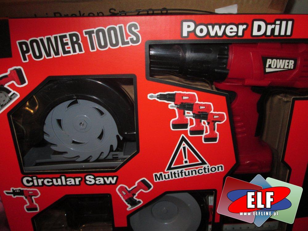 Zabawki, Narzędzia, Wiertarka, i inne narzędzia zabawkowe