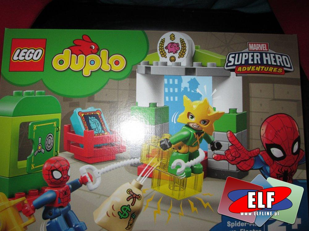 Lego Duplo, Marvel Spider-Man 10893 Spider-Man vs. Electro, klocki