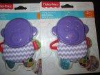 Fisher-Price silikonowa zabawka dla dzieci, niemowląt, Gryzak, Gryzaczki