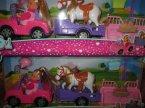 Laleczka Evi w samochodziku z kucykiem, lalki, laleczki Laleczka Evi w samochodziku z kucykiem, lalki, laleczki