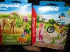 Playmobil, 70060, 70061, 70059, 70058, 70062, 70063, klocki, zabawki Playmobil, 70060 Dziewczynka z kucykiem, 70061 Dzieci na rolkach i rowerze, 70059 Wróżka z sarenką, 70058 Cz...