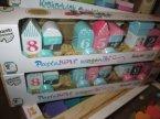Trefl, Bobaski i Miś, Pastelowe wagoniki, zabawki drewniane, zabawka drewniana Trefl, Bobaski i Miś, Pastelowe wagoniki, zabawki drewniane, zabawka drewniana