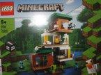 Lego Minecraft, 21174 Nowoczesny domek na drzewie, klocki