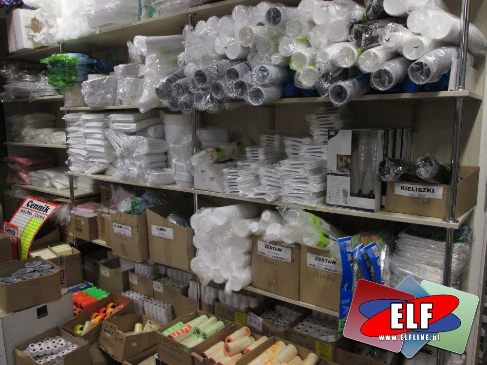 Folia bąbelkowa, flaczarki, kubeczki, sztućce, widelce, łyżeczki, kubeczki jednorazowe, naczynia jednorazowe, wszelkiego rodzaju