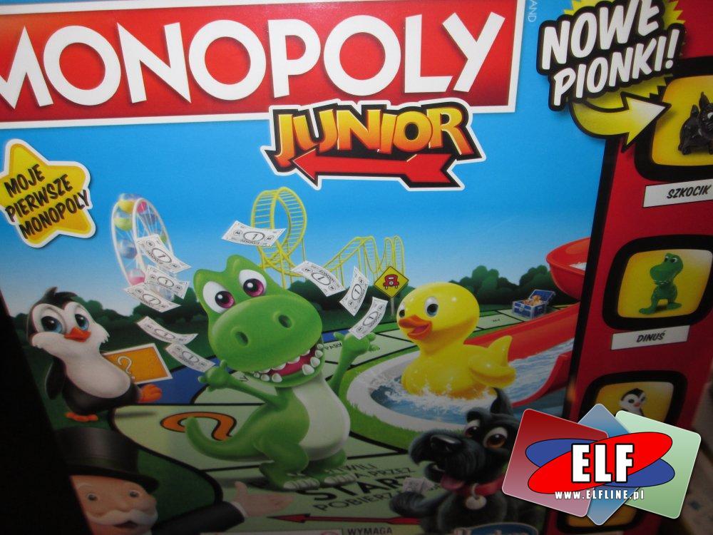 Gra Monopoly Junior, Gry, Moje pierwsze monoponly