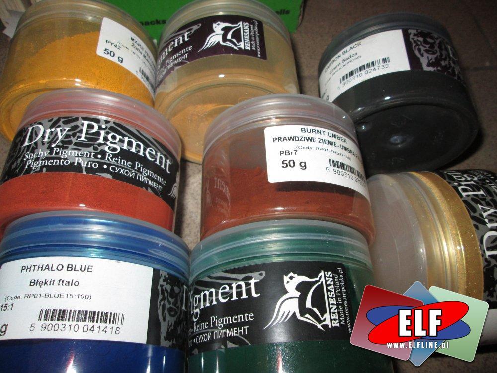Dry Pigment, Suchy Pigment artystyczny, dla artystów i plastyków, Pigmenty