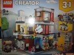 Lego Creator, 31097 Sklep zoologiczny i kawiarenka, klocki