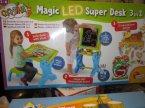 Carotina, Magiczny stolik LED, Edukacyjny i kreatywny stolik dla dzieci, do zabawy i nauki