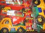 Samochód, Samochody, plastikowe zabawki, wywrotki, wywrotka