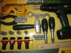 Narzędzia zabawkowe, kask, wkrętarka, zabawka, zabawki, kaski, wkrętarki, narzędzia zabawkowe