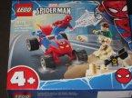 Lego 4+, Marver Spiderman, 76172 Pojedynek Spider-Mana z Sandmanem, klocki