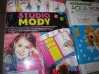 Studio Mody, zestaw kreatywny dla młodej projektantki, zestaw edukacyjny artystyczny, artystyczne zestawy kreatywne