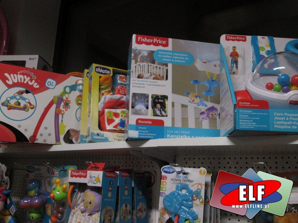 Akcesoria dla malucha, Niania elektroniczna, Mata do zabawy, Zawieszka nad łóżeczko i inne zabawki oraz akcesoria dla najmłodszych