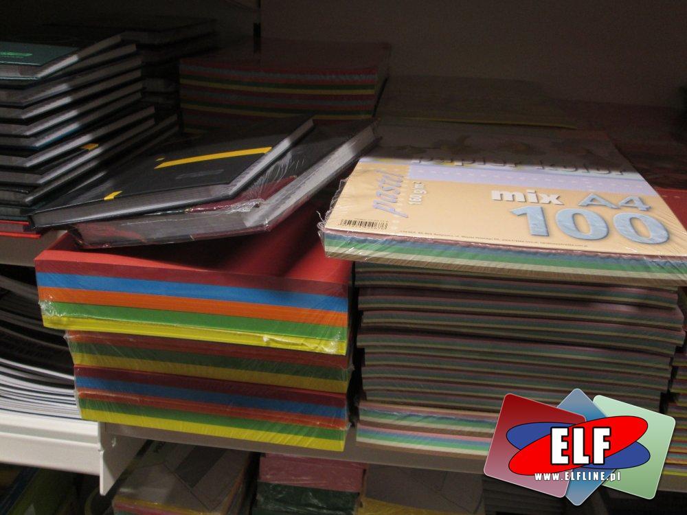 Bloki kolorowe, różne kolory i wzory, gładkie i karbowane, Blok, kartka, kartki kolorowe