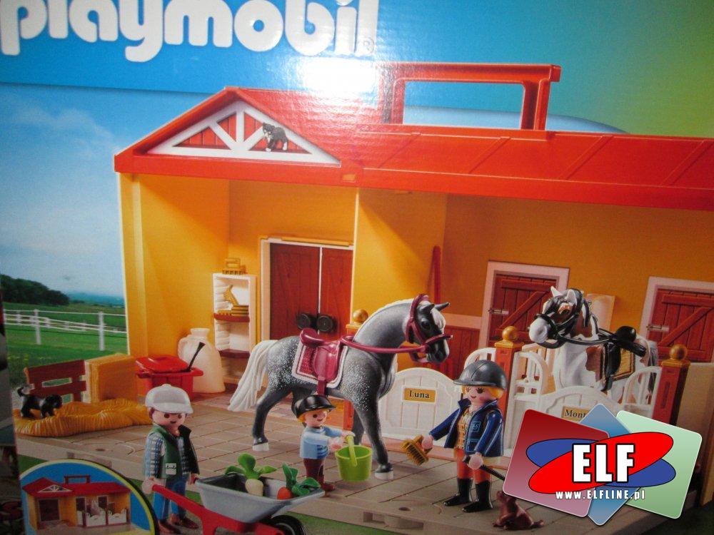 Playmobil Stadnina koni, konie