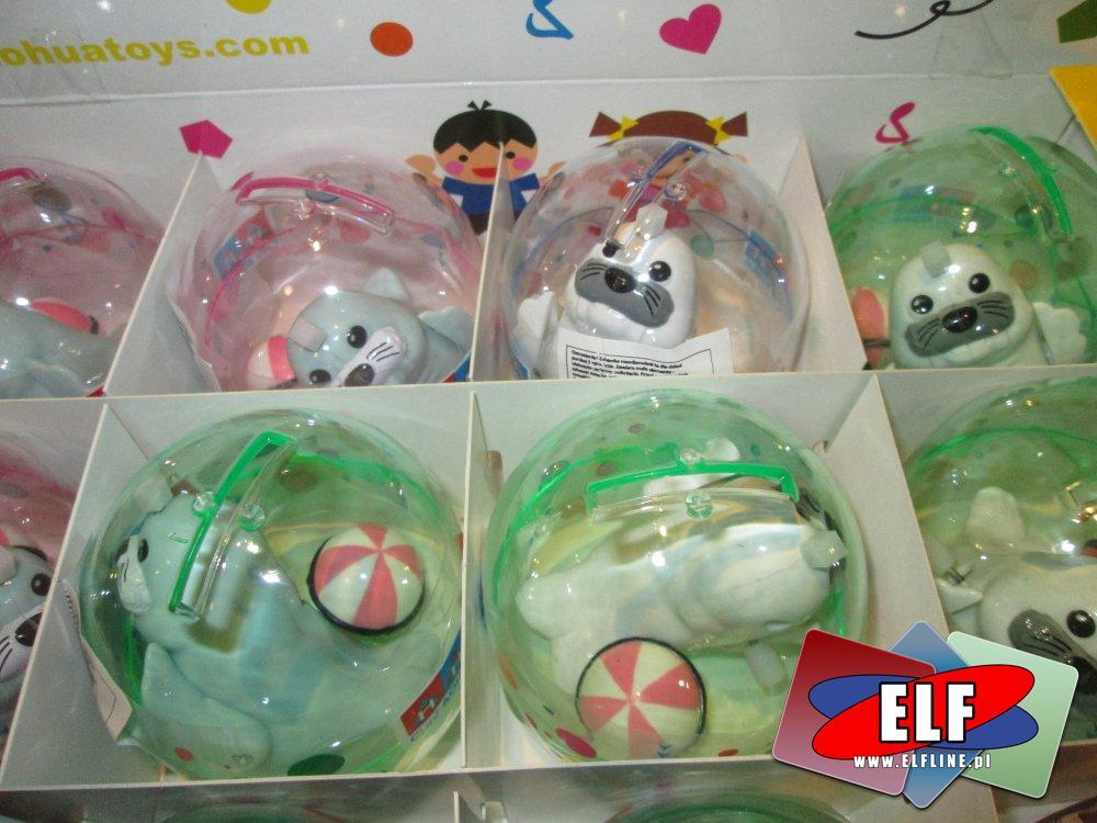 Zabawki w kuleczkach