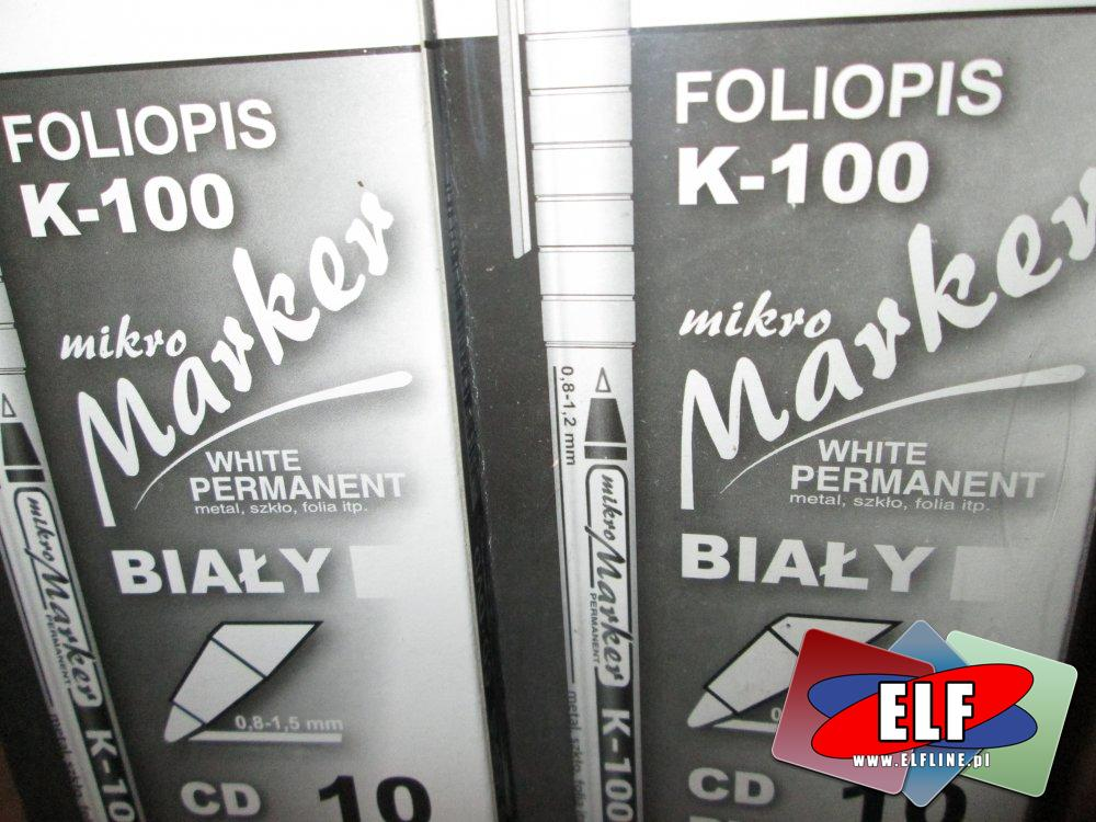 Foliopis K-100 na CD, DVD, BluRay, itp.