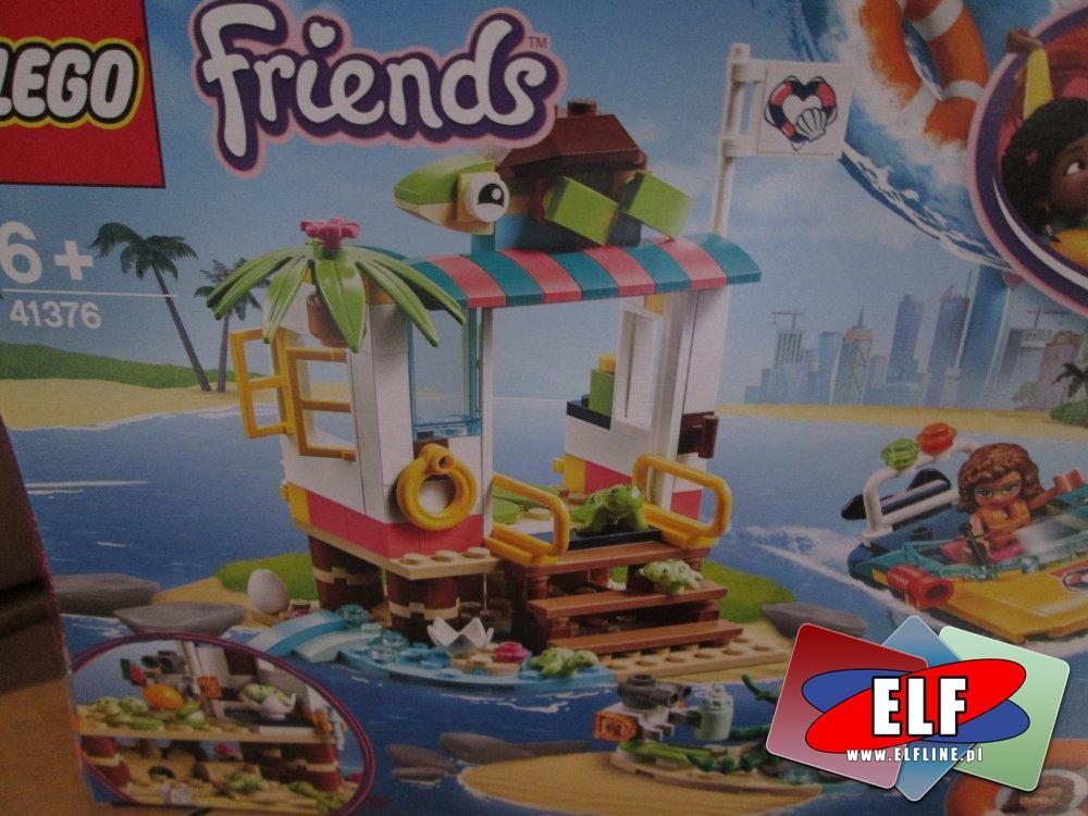 Lego Friends, 41376 Na ratunek żółwiom, klocki