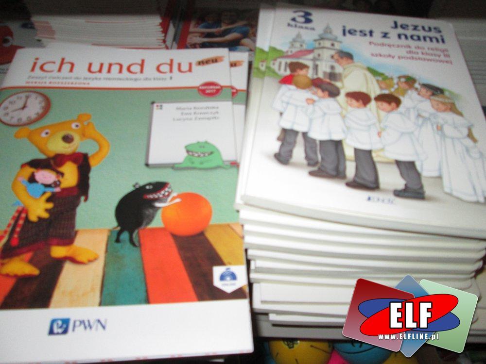 Podręczniki do niemieckiego, religii, dla szkoły podstawowej itp. Podręcznik szkolny, szkolne podręczniki, elementarz sześciolatka i inne książki i podręczniki edukacyjne