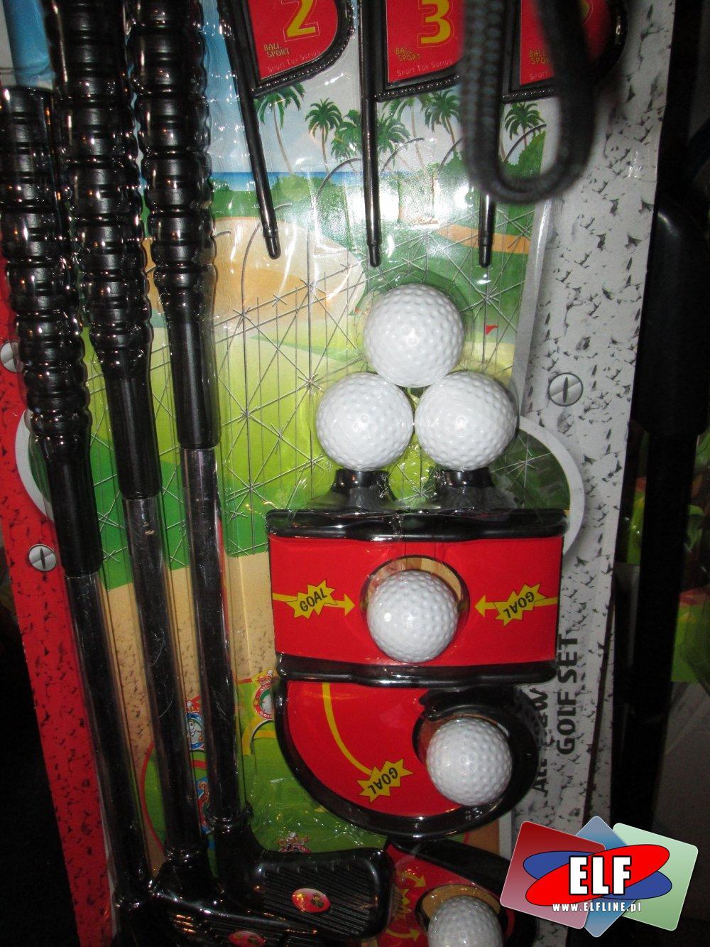 Gra w Golfa, Golf, Gry, Zestaw sportowy, zestawy sportowe