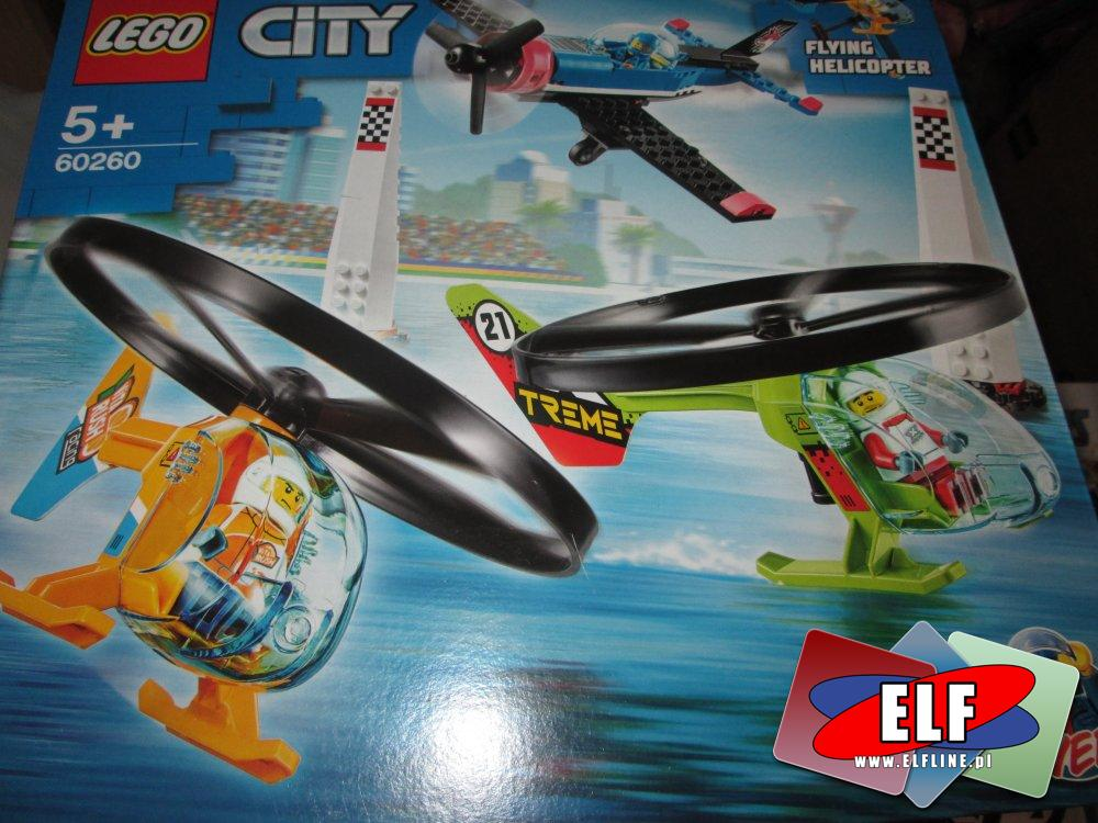 Lego City, 60260 Powietrzny wyścig, klocki