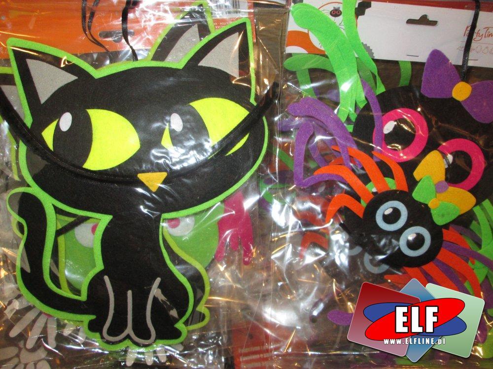 Ozdoby na Halloween, ozdoba świąteczna, Hallo Ween, halloweenowe ozdoby imprezowe