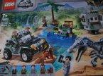 Lego Jurassic World, 75935 Starcie z barionyksem: poszukiwanie skarbów, klocki