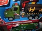Samochód transportowy, śmieciarka, drewno, zabawka, zabawki, samochody