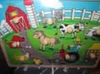 Puzzle dla dzieci, drewniane