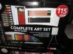 Complete Art Set With Easel, Kompletny zestaw artystyczny ze sztalugą Complete Art Set With Easel, Kompletny zestaw artystyczny ze sztalugą