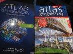 Książka Atlas geograficzny, książki edukacyjne Książka Atlas geograficzny, książki edukacyjne