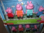 Peppa pig, Świnka peppa Construction, Bloxx, zabawka, zabawki