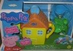 Peppa Pig, Świnka Peppa, House Tea Set, Domek z zestawem do herbaty świnki peppy