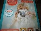 Bubble Camera, Bańki mydlane, Kamera do puszczania baniek mydlanych ze światłem i dźwiękiem... Bubble Camera, Bańki mydlane, Kamera do puszczania baniek mydlanych ze światłem i dźwiękiem