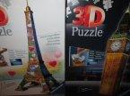 Puzzle 3D, różne znane i mniej znane miejsca i inne puzzle do układania w trójwymiarze
