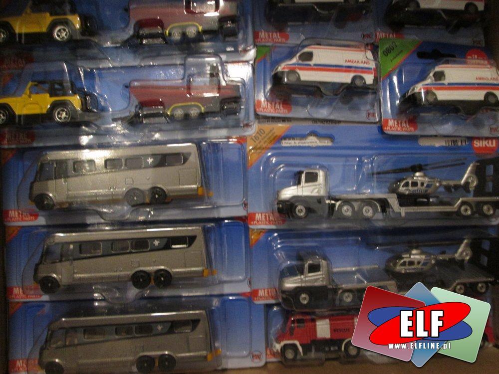 Siku, Matel, Samochodziki, samochody, pojazdy