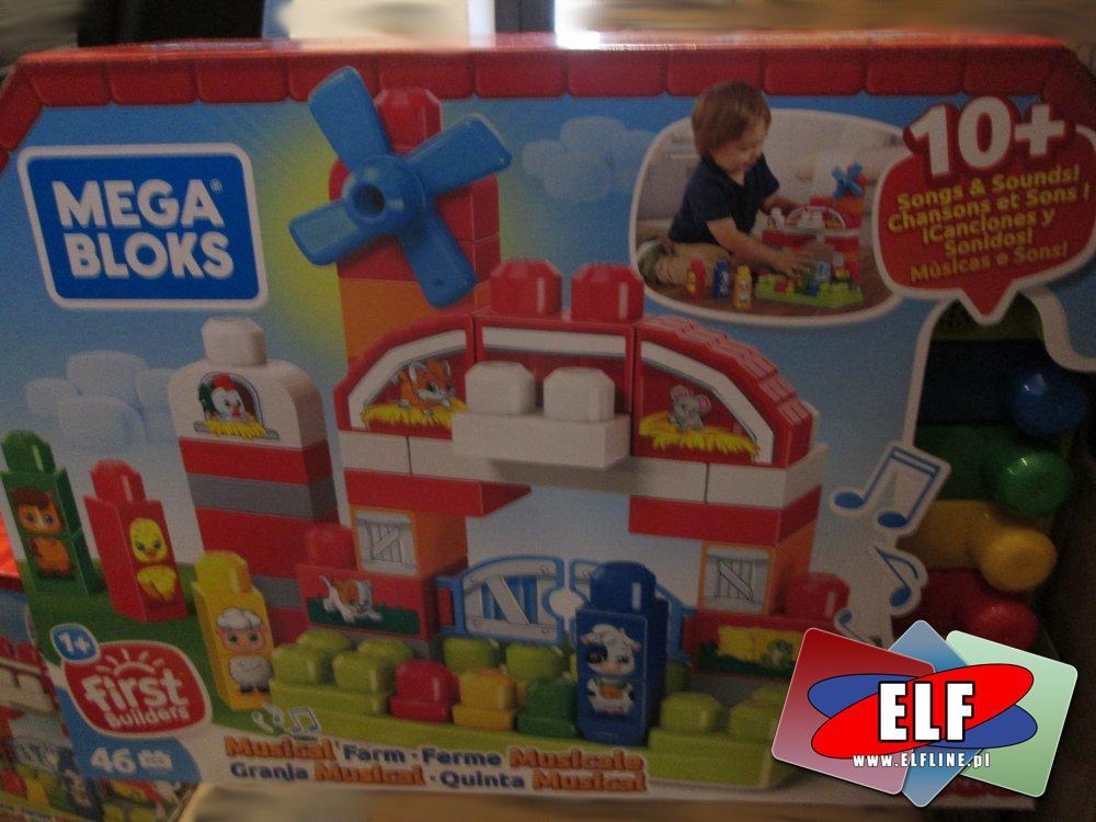 Mega Bloks, Klocki edukacyjna farma