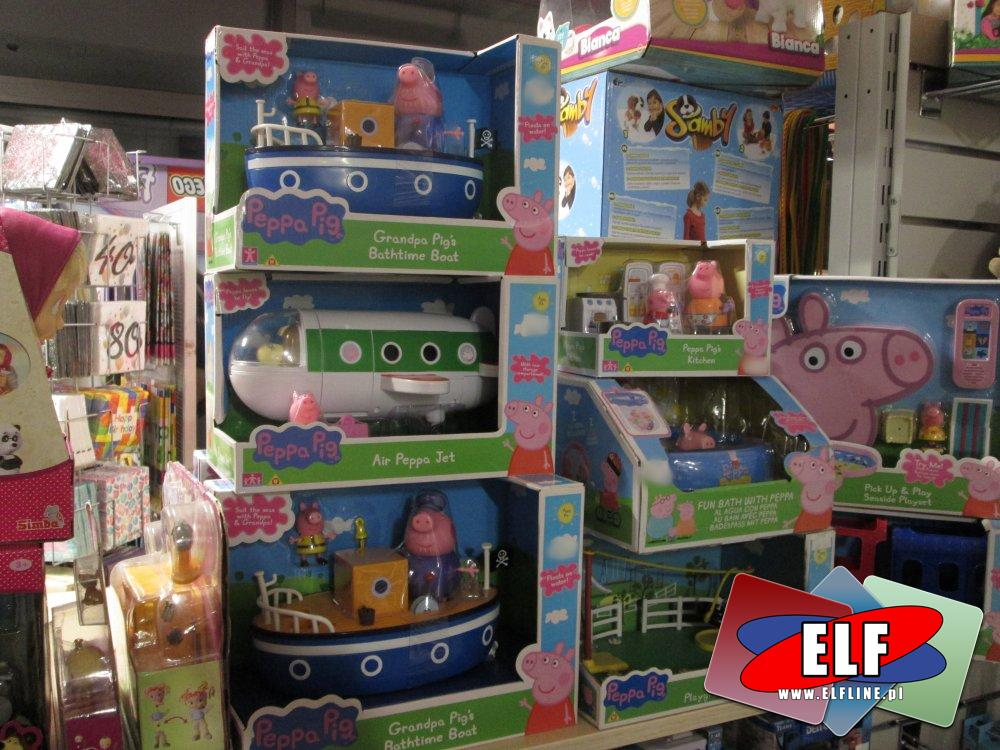 Świnka Peppa, Zabawki i akcesoria różne, Pepa