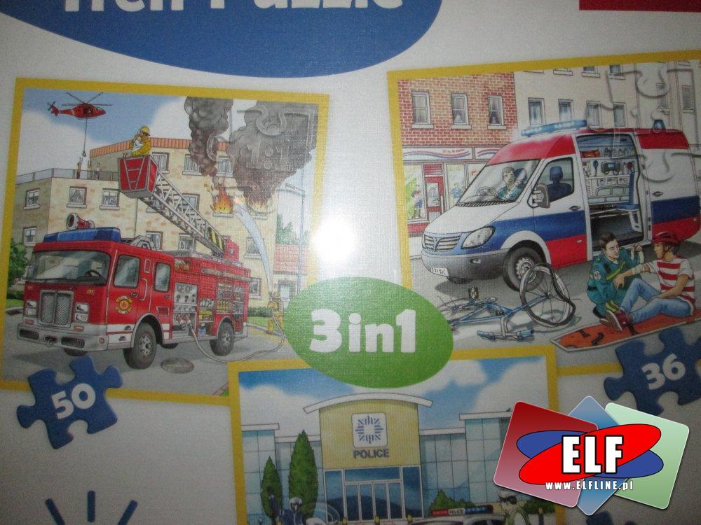 Puzzle, dla dzieci, 36, 50 elementów i inne