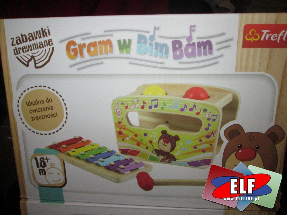 Zabawki drewniane, Gram w Bim Bam, cymbałki, instrument muzyczny, instrumenty muzyczne